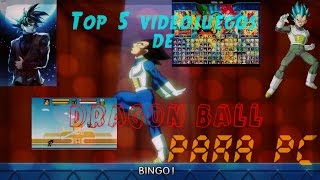 getlinkyoutube.com-Top 5 de los mejores juegos de Dragon Ball para PC 2016 - AxelGames