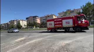 Nevşehir'de Polis Ve Jandarmadan '19 Mayıs' Konvoyu