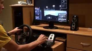 getlinkyoutube.com-Euro Truck Simulator 2 - Max Settings + Logitech G27