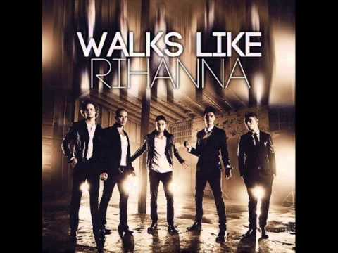 The Wanted - Walks Like Rihanna (Official HQ Lyrics)