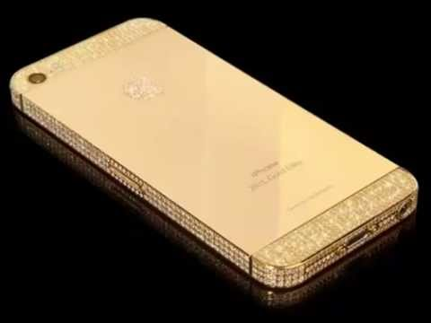 iphon 5 S of pure gold, platinum and diamonds! $ 4,400