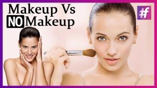 getlinkyoutube.com-Makeup vs No Makeup
