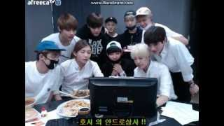 getlinkyoutube.com-150716 Seventeen - Andromeda Wonwoo birthday surprise + ending
