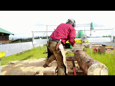 The ULTIMATE Homestead Sawmill