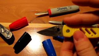 getlinkyoutube.com-How to make the sharpie knife, Tutorial.