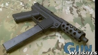 "getlinkyoutube.com-KG-99 ""Evil Assault Pistol"" Interdynamic USA 9mm"