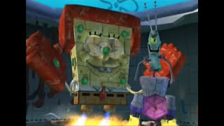 getlinkyoutube.com-Spongebob Squarepants: Battle for Bikini Bottom - Final Boss + Ending - Spongebob Steelpants