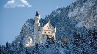 getlinkyoutube.com-Travel for Kids | Neuschwanstein Castle in Snow