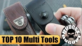 getlinkyoutube.com-Top 10 Best EDC Multi Tools -- Multi Tool Comparison & Review | Leatherman, Gerber, Victorinox, SOG