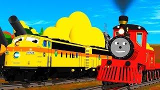 getlinkyoutube.com-Dessin Anime - Train Shawn Francais - Apprends les tailles