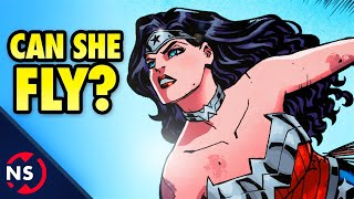 getlinkyoutube.com-Can WONDER WOMAN Fly? || Comic Misconceptions || NerdSync