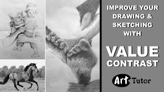 Improve Your Drawings with Stronger Values