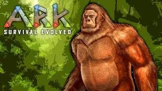 getlinkyoutube.com-OMG, PREHISTORIC BIGFOOT!!! ★ ARK: Survival Evolved (24)
