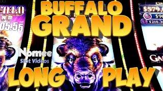 Buffalo Grand Slot Machine - New Game!! - Long Play with Bonus