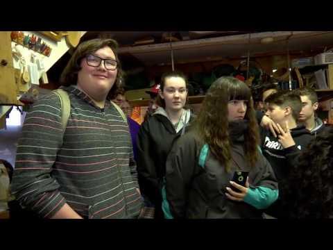 25e voyage éducatif sur la Côte-de-Beaupré pour des élèves de l'Alberta