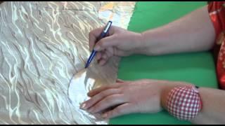 getlinkyoutube.com-Римская штора, своими руками из подручных материалов.