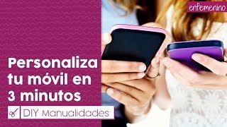 getlinkyoutube.com-Personaliza tu móvil EN 3 MINUTOS || Decoración DIY