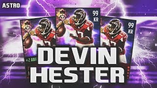 getlinkyoutube.com-99 OVERALL DEVIN HESTER LEAGUE CARD REVIEW/GAMEPLAY! - Madden Mobile 16
