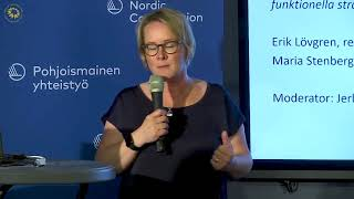 FUNKTIONELLA TRANSPORTSTRÅK ÖVER LANDSGRÄNSER? -- Maria Stenberg (S) och Erik Lövgren (S)