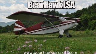 getlinkyoutube.com-BearHawk, Bear Hawk experimental light sport aircraft.