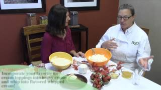 High Quality Organics Thanksgiving Tip #5: Flavored Whipped Cream