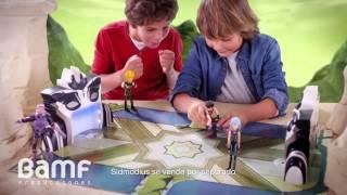 getlinkyoutube.com-Desafío Champions Sendokai - Campo de batalla - Juguetes Madrid