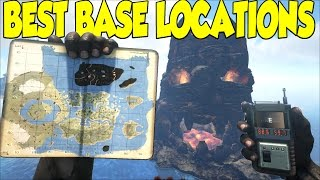 getlinkyoutube.com-Ark Survival Evolved Best Base Locations For The CENTER MAP & Sick Cinematic Views
