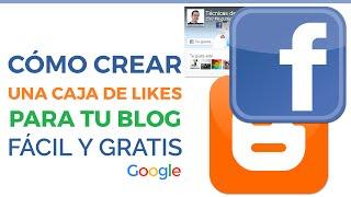 Cómo crear cajas de Facebook para Blogger