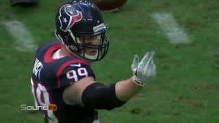Sound FX: JJ Watt