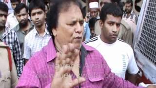getlinkyoutube.com-Newswala : Zafar Pahelwan taken into custody by Kanchanbagh Police -- Brought for Checkup to OGH