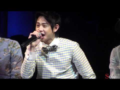 Yoseob singing 4Minutes Volume Up @ 2nd Official FM (12.04.22)