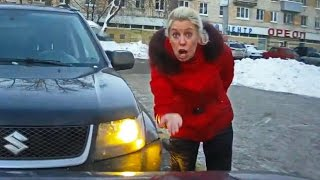 getlinkyoutube.com-Woman Car Crashes Compilation, Women Driving Fail and accidents # 13