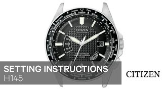 getlinkyoutube.com-CITIZEN H145 Setting Instruction