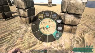 getlinkyoutube.com-ARK: Survival Evolved - Stop pillars from peeking + Better Bridges.