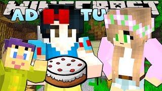 getlinkyoutube.com-Minecraft- Princess Sleepover- SNOW WHITES MOVIE SLEEPOVER!