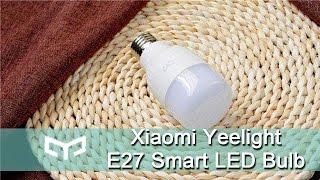 getlinkyoutube.com-Original Xiaomi Yeelight E27 Smart LED Bulb- Gearbest.com