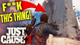 getlinkyoutube.com-Just Cause 3 - ISLAND NUKES! - Just Cause 3 Funny Moments Gameplay