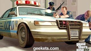 getlinkyoutube.com-mod policias disparando desde el auto como Gta IV para Gta san andreas
