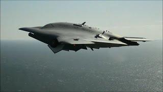 getlinkyoutube.com-X-47B drone
