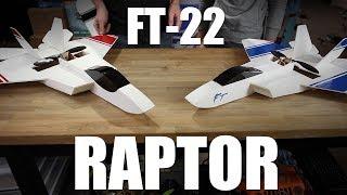 getlinkyoutube.com-Flite Test - FT-22 Raptor - PROJECT