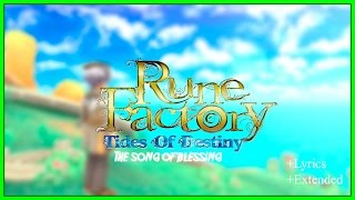 getlinkyoutube.com-The song of blessing with lyrics (english) // Rune Factory Tides Of Destiny + Extended