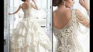getlinkyoutube.com-اجمل مجموعة فساتين زفاف لعام 2015