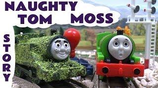 getlinkyoutube.com-Tom Moss The Prank Engine Thomas & Friends Funny Kids Toy Story Percy James Toby Gordon Episode 3
