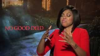 getlinkyoutube.com-Taraji P. Henson Says She Hurt Idris Elba's Feelings While Filming No Good Deed!