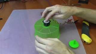 getlinkyoutube.com-Make your hamster wheel silent DIY - do it yourself
