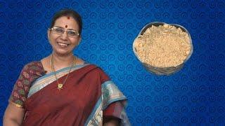 getlinkyoutube.com-Paruppu Podi in Tamil   Mallika Badrinath Recipes   Dhal Powder  Andhra Style