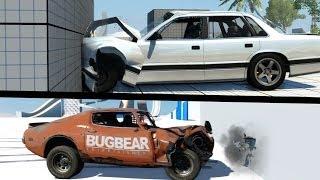 getlinkyoutube.com-BeamNG VS Next Car Game