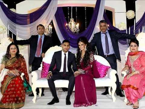 Amir Khan engagement with Faryal Makhdoom   king khan pictures! DesiSpy com