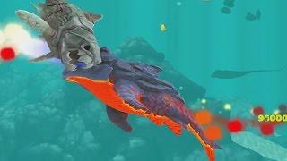 getlinkyoutube.com-Hungry Shark Evolution Pyro Shark Android Gameplay #20