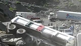Fatalna próba postawienia ciężarówki